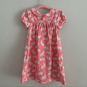 Baby Boden pink bunny dress size 18-24 months